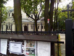 Kościół Garnizonowy w Kielcach, w którym odbyła się msza pożegnalna.